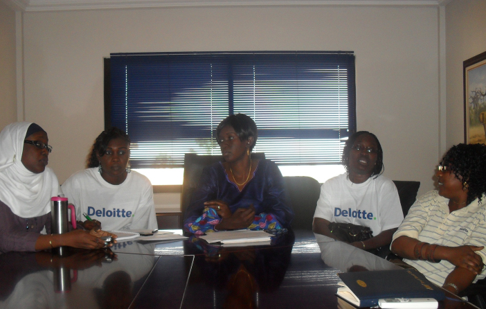 DT-Female-staff-in-discussion-during-2010-International-Womens-Day-Celebrations
